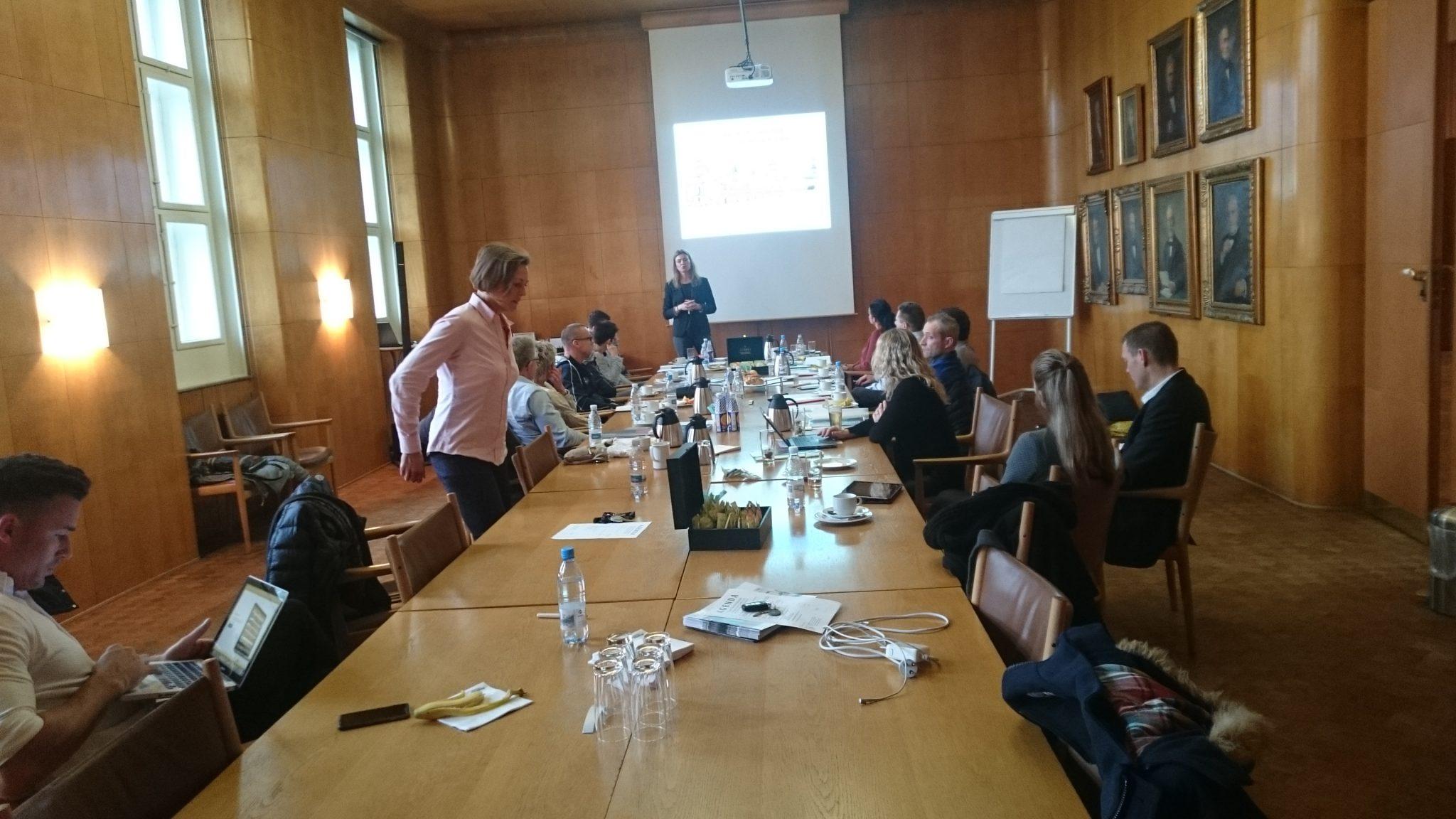 Netværksmøde ved DFHO på Børsen i København